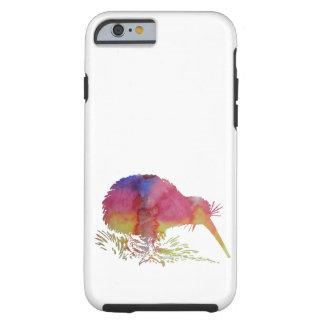 De vogel van de kiwi tough iPhone 6 hoesje