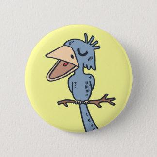 De Vogel van de Nonsens van de nonsens Ronde Button 5,7 Cm