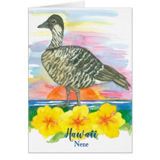 De Vogel van de staat van de Spatie van de Briefkaarten 0