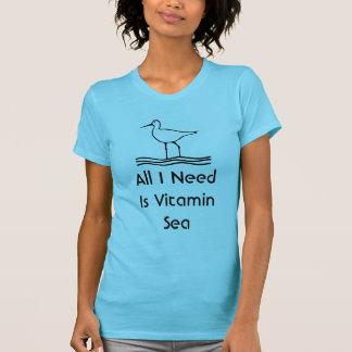 De Vogel van de strandloper Al Behoefte van I is T Shirt