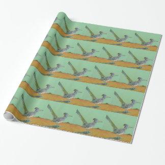 De Vogel van Roadrunner Cadeaupapier