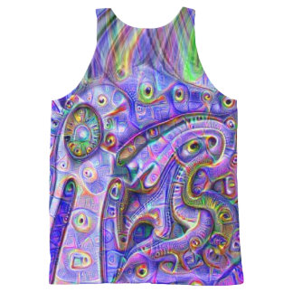 De Vogel van Trippy All-Over-Print Tank Top