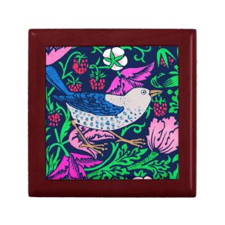 De Vogel van William Morris & de Tegel van de Decoratiedoosje