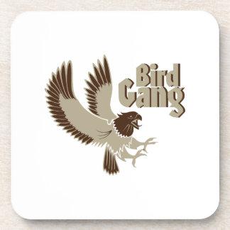 De Vogelobservatie van de Troep van de vogel Onderzetter