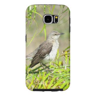 De vogelPalm van de spotlijster Samsung Galaxy S6 Hoesje