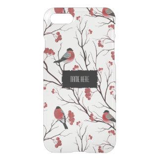 De Vogels en de Bessen van de winter iPhone 8/7 Hoesje