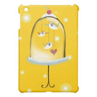 De vogels kooien Klantgerichte Kleur Als iPad Mini Hoesje