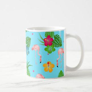 De Vogels van de flamingo Koffiemok