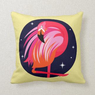 De Vogels van de flamingo Sierkussen