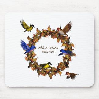 De Vogels van de herfst Muismat
