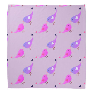 De vogels van de liefde bandana