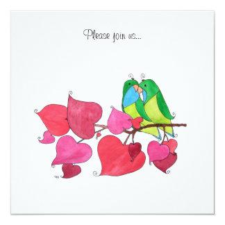 De Vogels van de liefde Kaart
