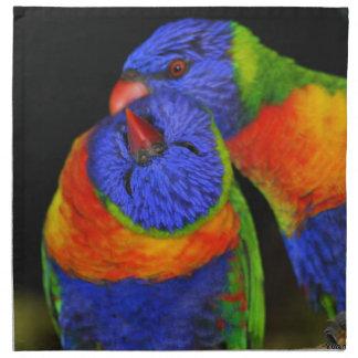 De Vogels van de liefde Katoenen Servet
