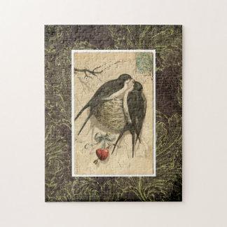 De Vogels van de liefde Puzzel