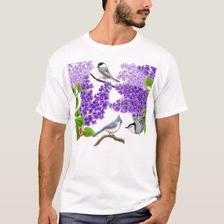 De Vogels van de Tuin van de binnenplaats in het T Shirt
