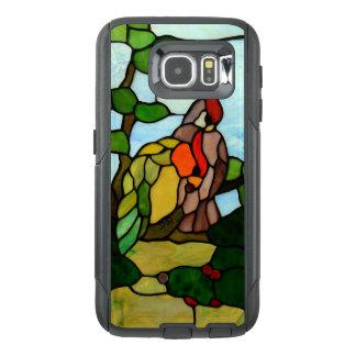 De Vogels van het gebrandschilderd glas OtterBox Samsung Galaxy S6 Hoesje