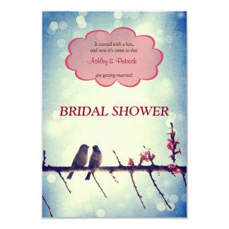 De vogelsverhaal van de liefde de Uitnodiging van