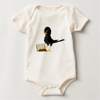de vogeltjes houden van boeken baby shirt