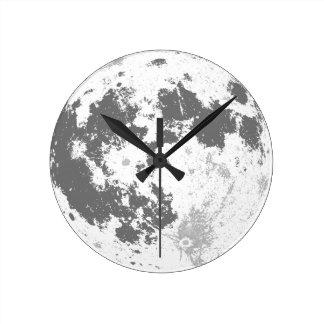De Volle maan Heldere Supermoon van de maan Ronde Klok
