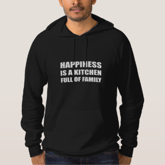 De Volledige Familie van de Keuken van het geluk Hoodie