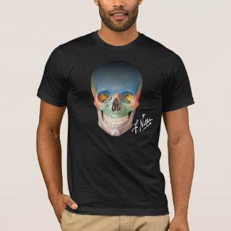 De Voorafgaande Schedel van Netter op een Zwarte T Shirt