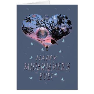 De Vooravond van de gelukkige Midzomer! Briefkaarten 0