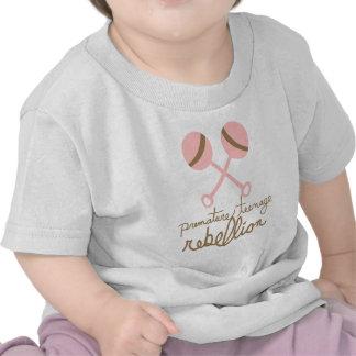 De voorbarige Tiener (Roze) T-shirt van de Opstand