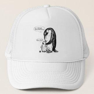 De Voorlichting van de pinguïn Trucker Pet