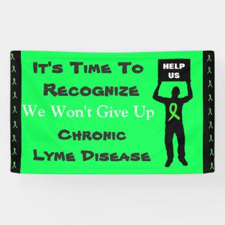 De Voorlichting van de Ziekte van Lyme zullen wij Spandoek
