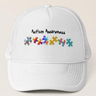 De Voorlichting van het autisme (Al Wit) Trucker Pet