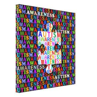 De Voorlichting van het autisme Canvas Bedrukken