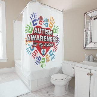 De Voorlichting van het autisme voor mijn Neef Douchegordijn