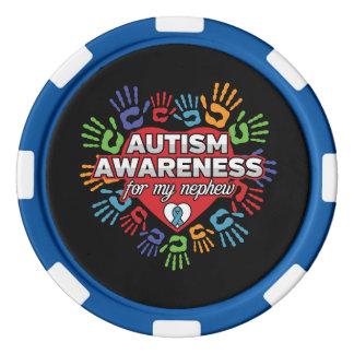 De Voorlichting van het autisme voor mijn Neef Pokerchips