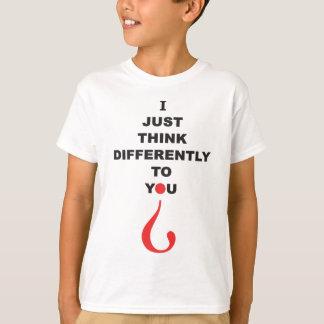 De voorlichtingsT-shirt van het autisme die ik T Shirt