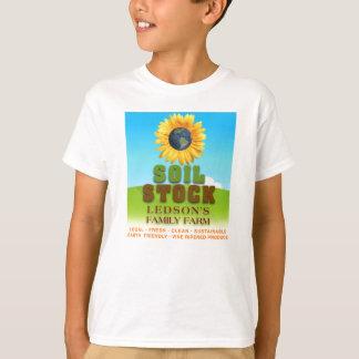 De Voorraad van de grond - het Overhemd van het T Shirt