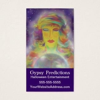 De Voorspelling van de zigeuner Visitekaartjes