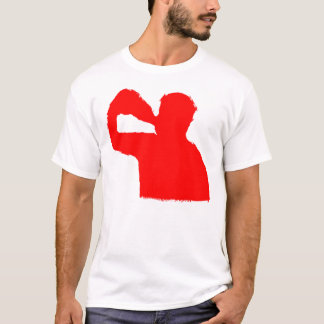 De VOORZIJDE EN de RUG van de drinker T Shirt