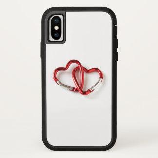 De vorm zeer belangrijke keten van het hart. iPhone x hoesje