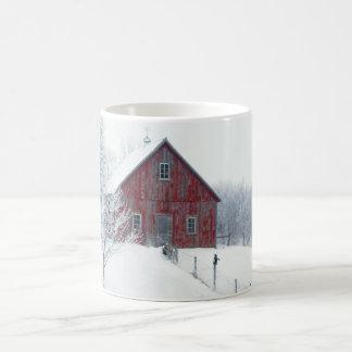 De Vorst van de winter met Schuur Koffiemok