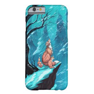 De vossen van de sneeuw barely there iPhone 6 hoesje