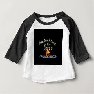 De vraag is is u Bang van Dark Baby T Shirts