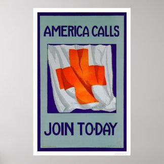 De Vraag van Amerika - treed vandaag toe (US00053) Poster
