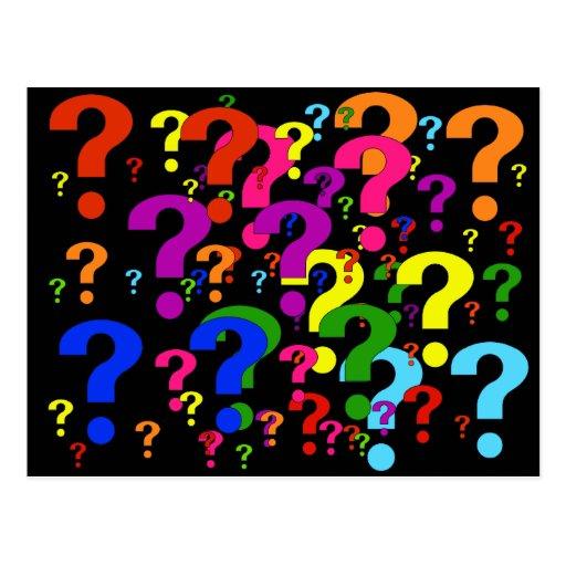 Rainbow Question Mark