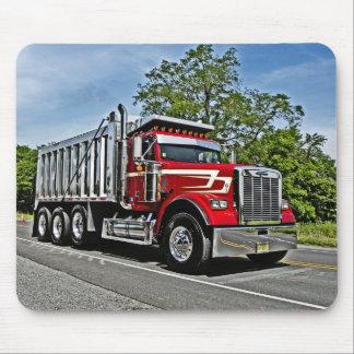 De Vrachtwagen van de Stortplaats van CRA Mousepad Muismatten