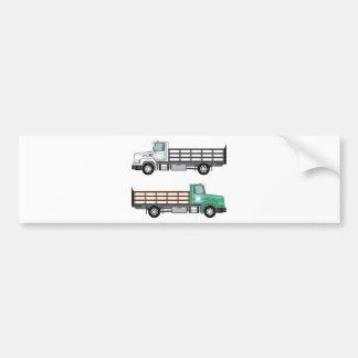 De Vrachtwagen van het boerderij Bumpersticker