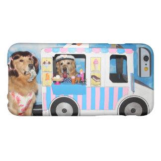 De Vrachtwagen van het Roomijs van het golden Barely There iPhone 6 Hoesje
