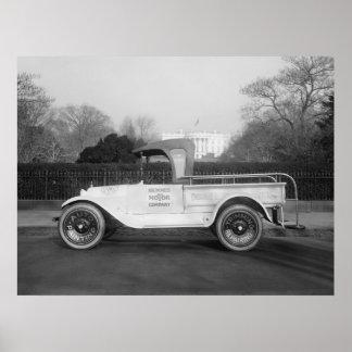 De Vrachtwagen van het Werk van Stylin, 1921 Poster