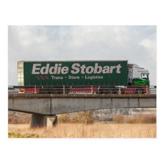 De vrachtwagenbriefkaart van Eddie Stobart Briefkaart