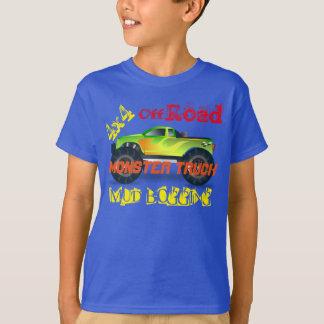 De vrachtwagenontwerp van het monster t shirt