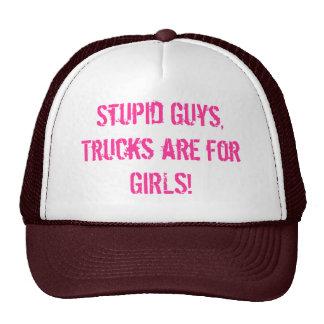 De vrachtwagens ZIJN voor meisjes! Pet Met Netje